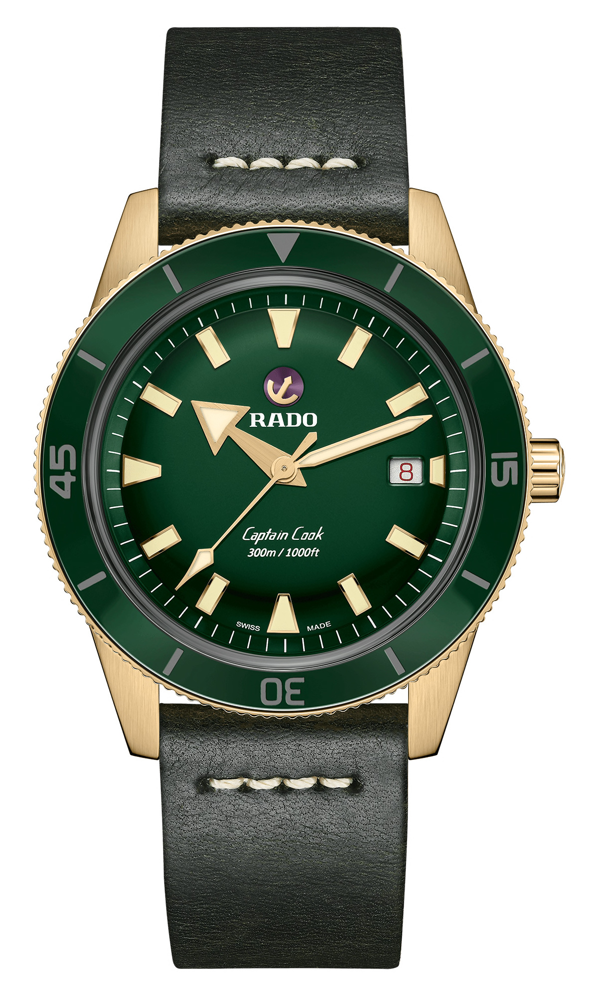 Rado - Horloge Heren - Captain Cook Bronze - R32504315-1