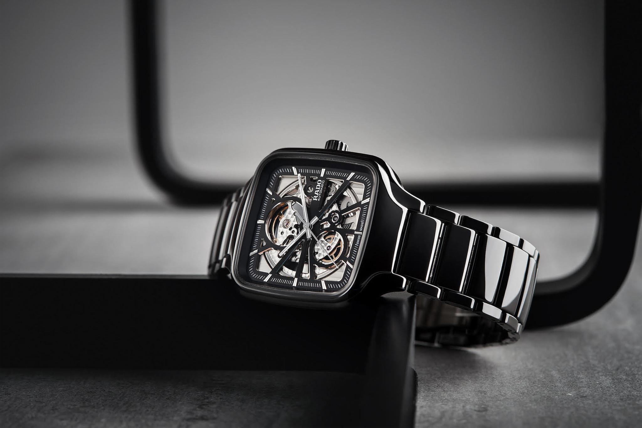 Rado - Horloge - True Square Open Heart - R27086152-2