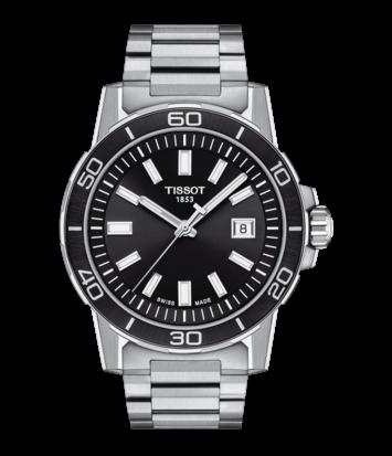 Tissot - Horloge Heren - Supersport - T1256101105100