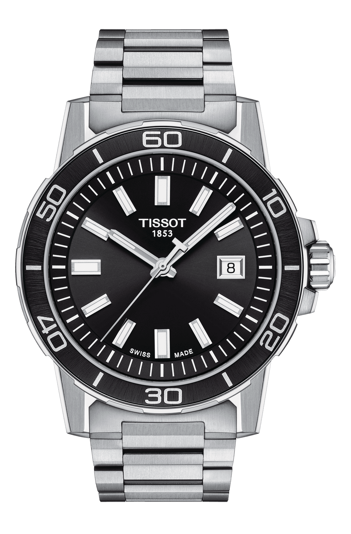 Tissot - Horloge Heren - Supersport - T1256101105100-1