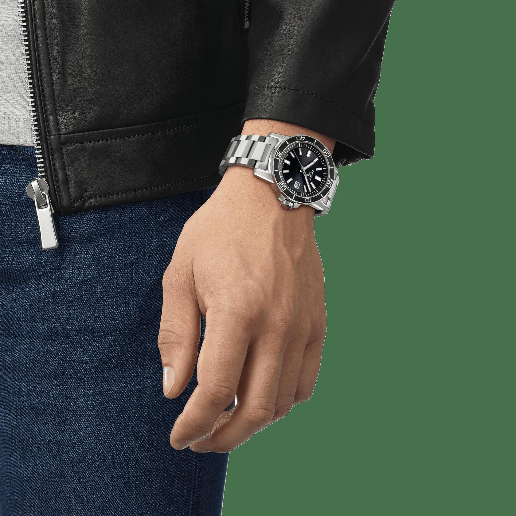 Tissot - Horloge Heren - Supersport - T1256101105100-2