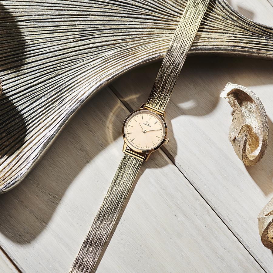 Danish Design - Horloge Dames - Akilia Mini Gold - IV06Q1268-2