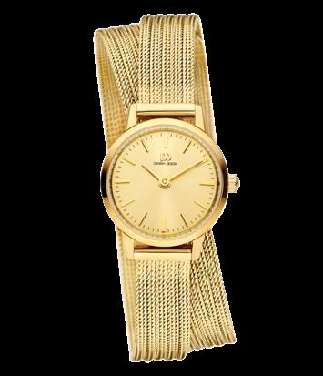 Danish Design - Horloge Dames - Akilia Mini Swing Gold - IV86Q1268