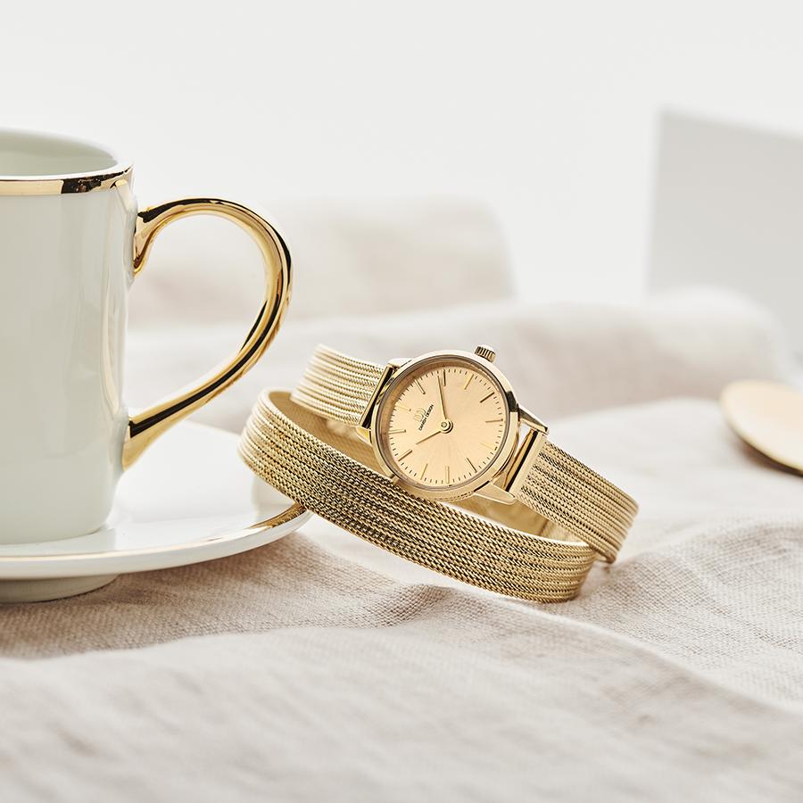 Danish Design - Horloge Dames - Akilia Mini Swing Gold - IV86Q1268-2