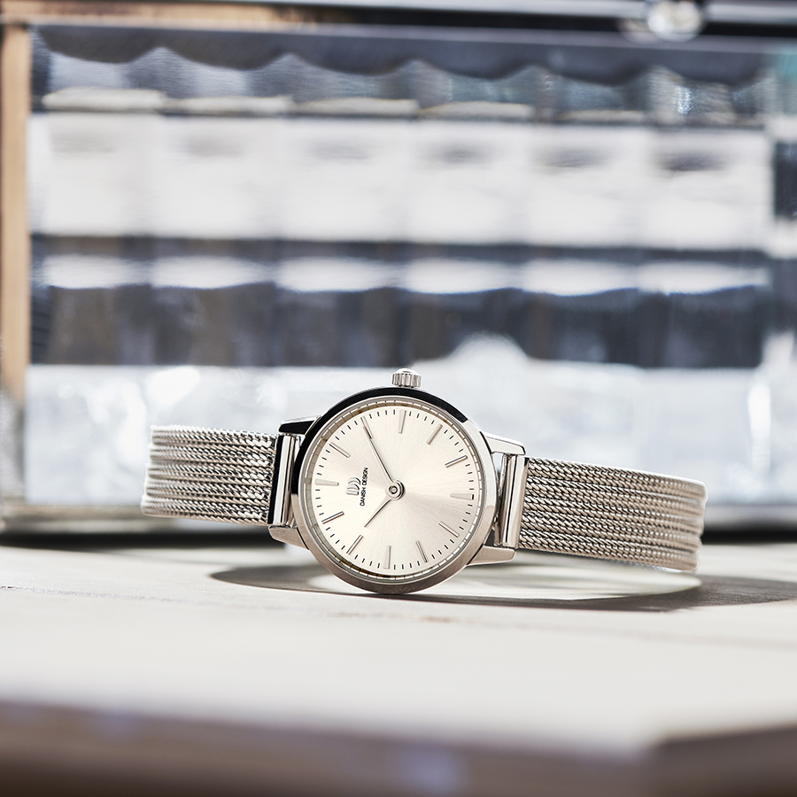 Danish Design - Horloge Dames - Akilia Mini Silver - IV06Q1268-2