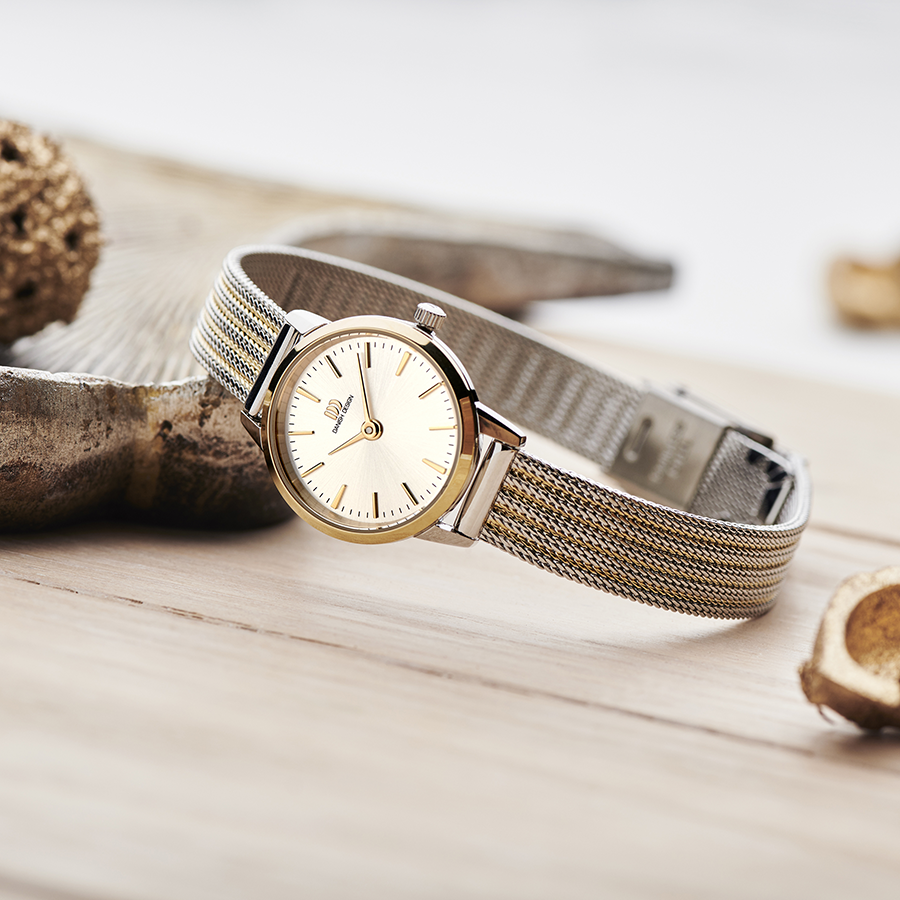 Danish Design - Horloge Dames - Akilia Mini Two-Tone - IV65Q1268-2