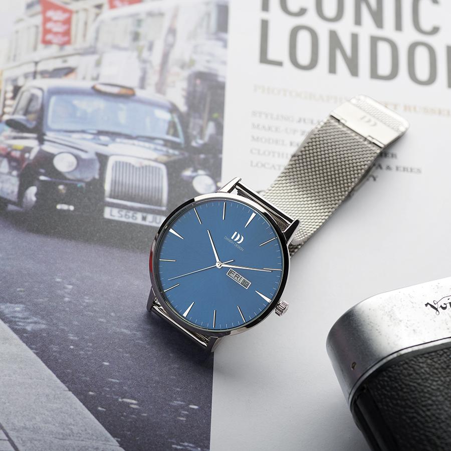 Danish Design - Horloge - Akilia Day Date - IQ68Q1267-2