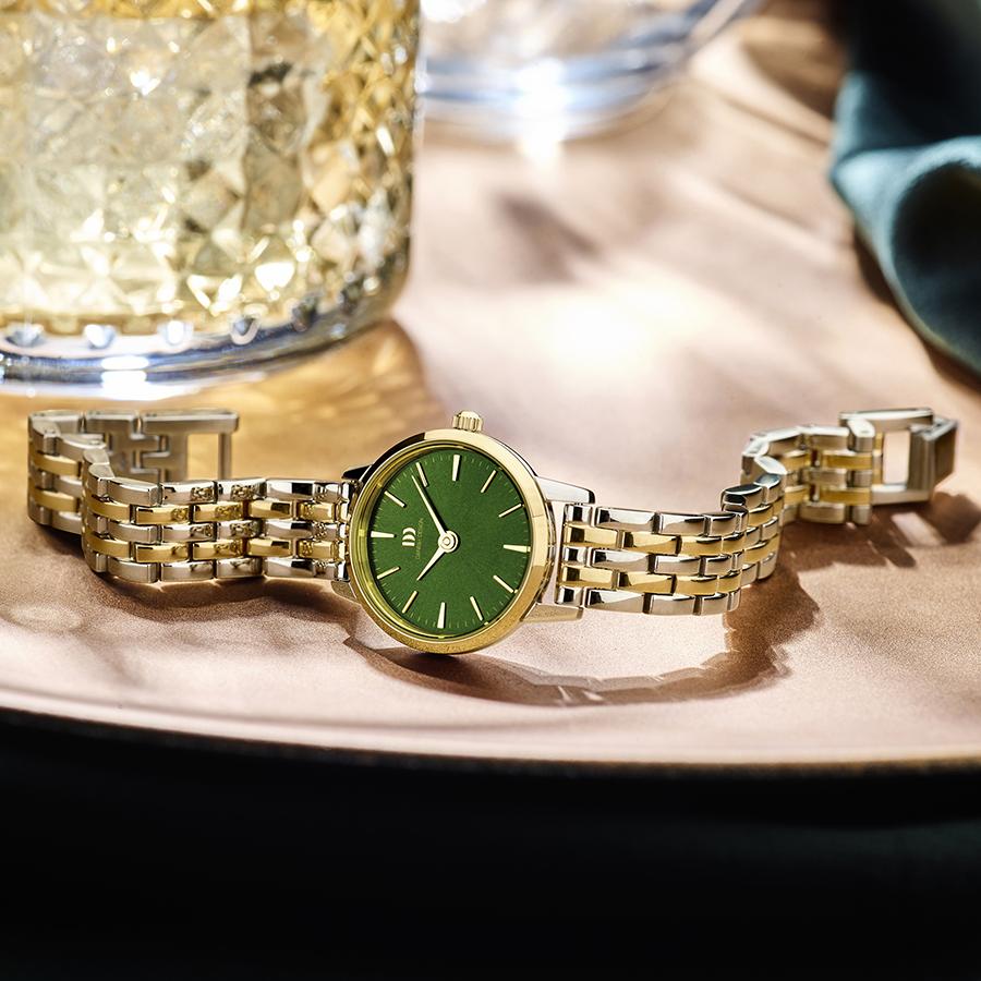 Danish Design - Horloge Dames - Akilia Mini Link Two-Tone - IV90Q1268-2