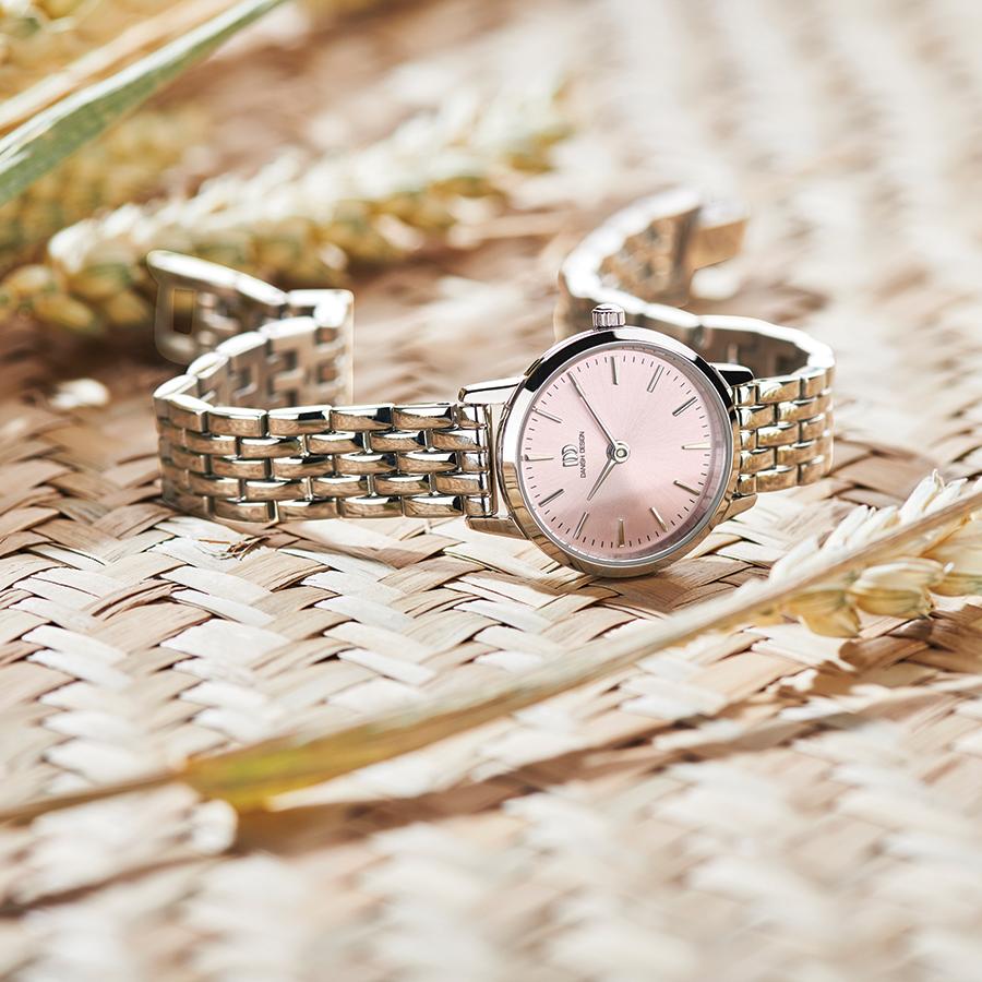 Danish Design - Horloge Dames - Akilia Mini Link Pink - IV97Q1268-2