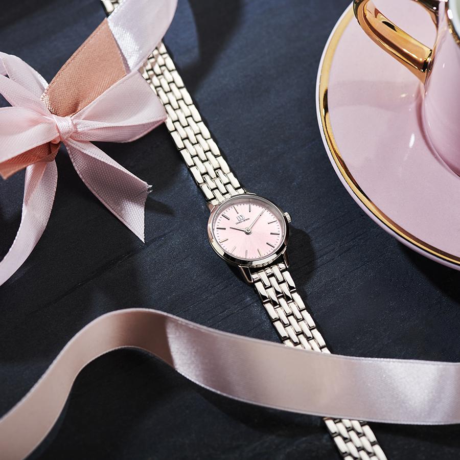 Danish Design - Horloge Dames - Akilia Mini Link Pink - IV97Q1268-3
