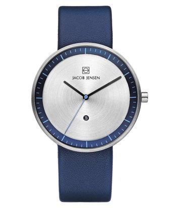 Jacob Jensen - Horloge Unisex - Strata 272 - Blauw