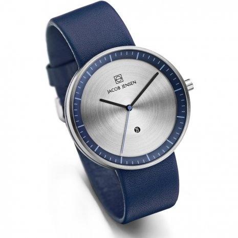 Jacob Jensen - Horloge Unisex - Strata 272 - Blauw-2