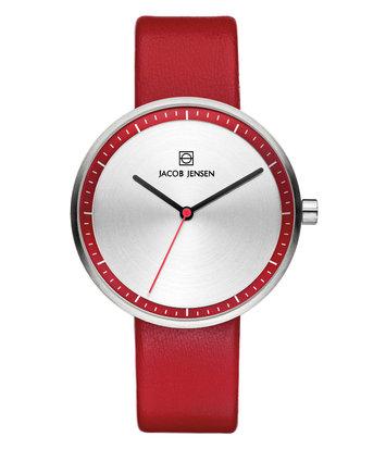 Jacob Jensen - Horloge Dames - Strata 283 - Rood