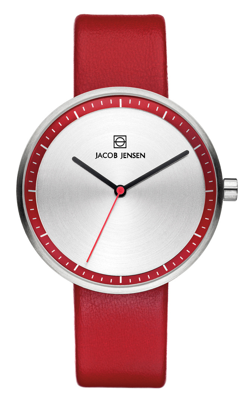 Jacob Jensen - Horloge Dames - Strata 283 - Rood-1