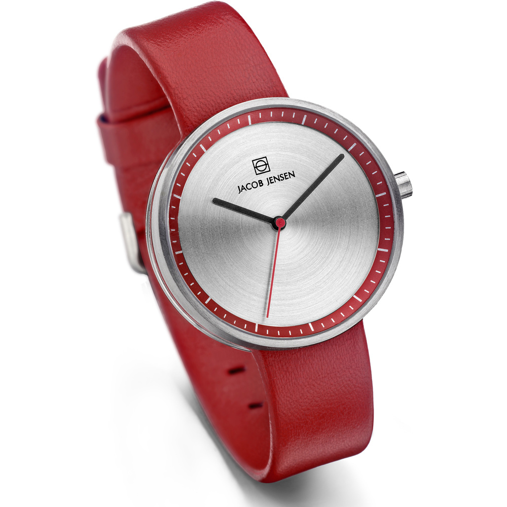Jacob Jensen - Horloge Dames - Strata 283 - Rood-3