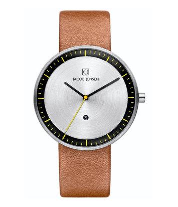 Jacob Jensen - Horloge Unisex - Strata 271 - Bruin