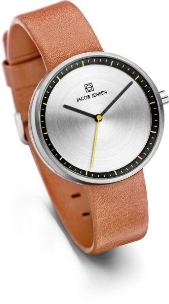 Jacob Jensen - Horloge Dames - Strata 281 - Bruin-2
