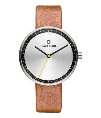 Jacob Jensen - Horloge Dames - Strata 281 - Bruin