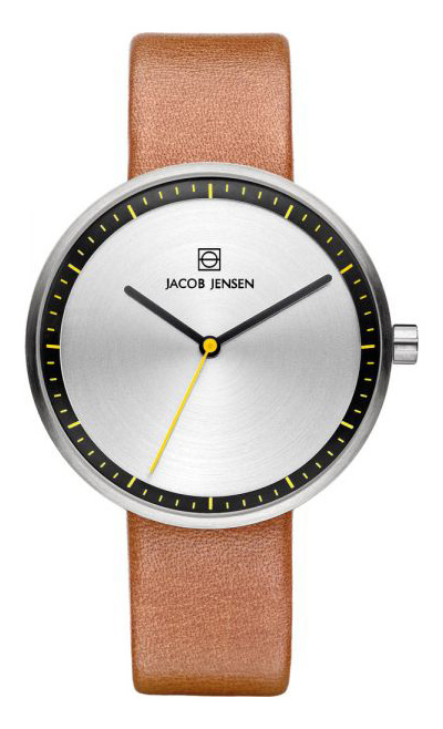 Jacob Jensen - Horloge Dames - Strata 281 - Bruin-1
