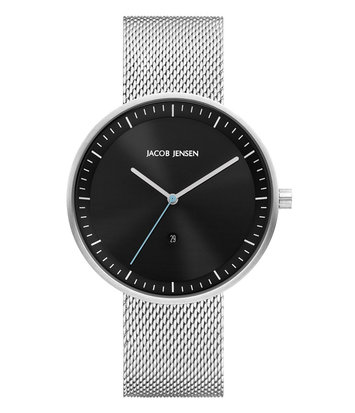 Jacob Jensen - Horloge Unisex - Strata 278 - Zwart