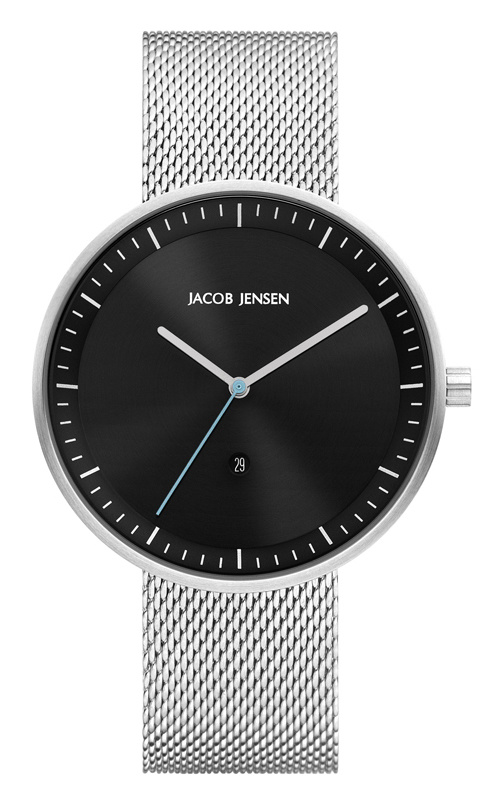 Jacob Jensen - Horloge Unisex - Strata 278 - Zwart-1
