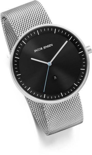 Jacob Jensen - Horloge Unisex - Strata 278 - Zwart-2