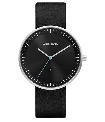 Jacob Jensen - Horloge Unisex - Strata 274 - Zwart