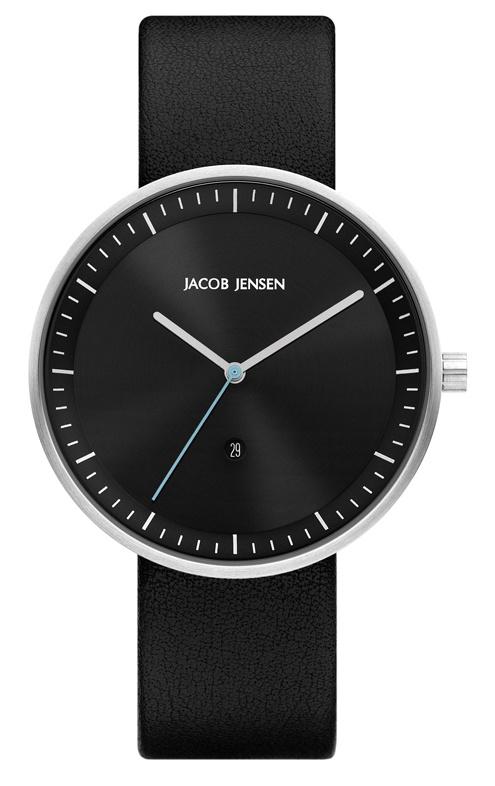 Jacob Jensen - Horloge Unisex - Strata 274 - Zwart-1