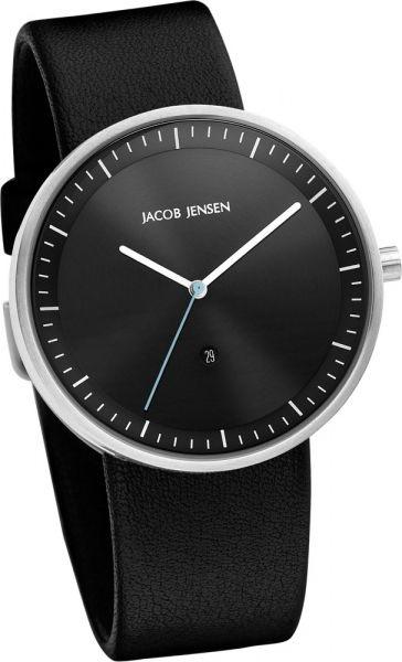 Jacob Jensen - Horloge Unisex - Strata 274 - Zwart-2