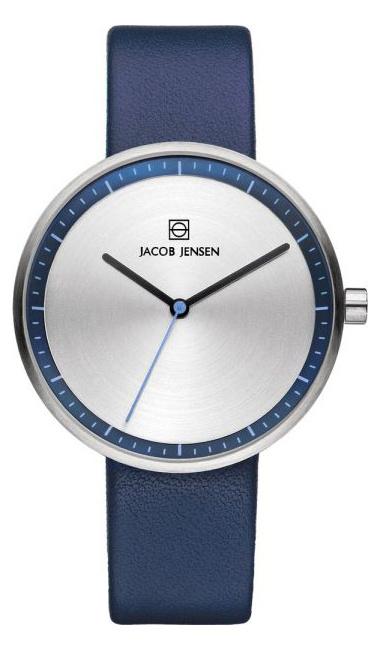 Jacob Jensen - Horloge Dames - Strata 282 - Blauw-1
