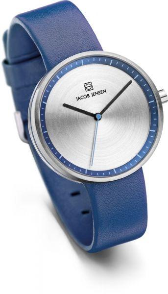 Jacob Jensen - Horloge Dames - Strata 282 - Blauw-2