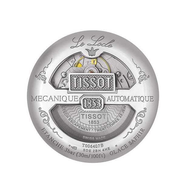 Tissot -  Horloge Heren - Le Locle  -  T0064071105300-3