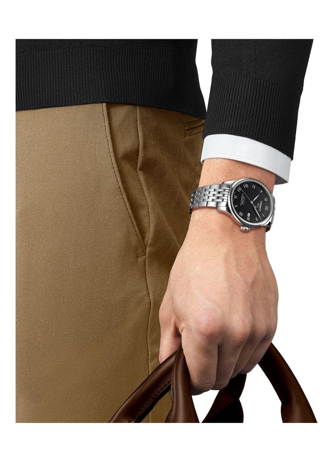 Tissot -  Horloge Heren - Le Locle  -  T0064071105300-2