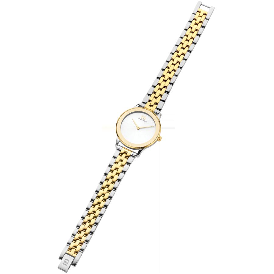 Danish Design - Horloge Dames - Nostalgi 1988 - Two Tone - IV95Q1288-4