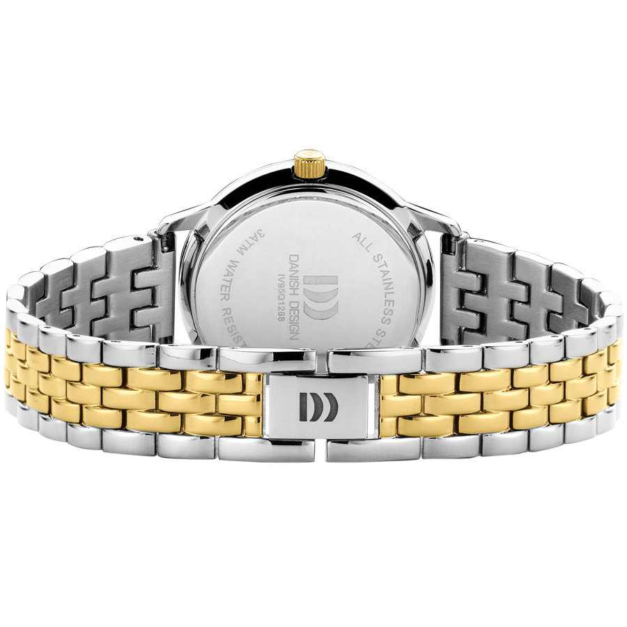 Danish Design - Horloge Dames - Nostalgi 1988 - Two Tone - IV95Q1288-2