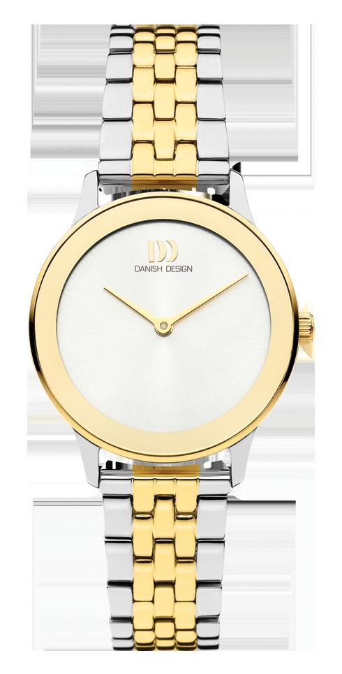Danish Design - Horloge Dames - Nostalgi 1988 - Two Tone - IV95Q1288-1