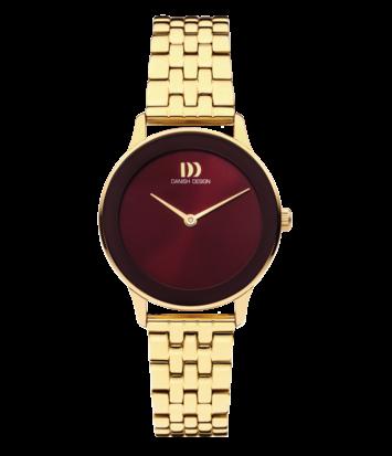 Danish Design - Horloge Dames - Nostalgi 1988 - Burgundy - IV97Q1288
