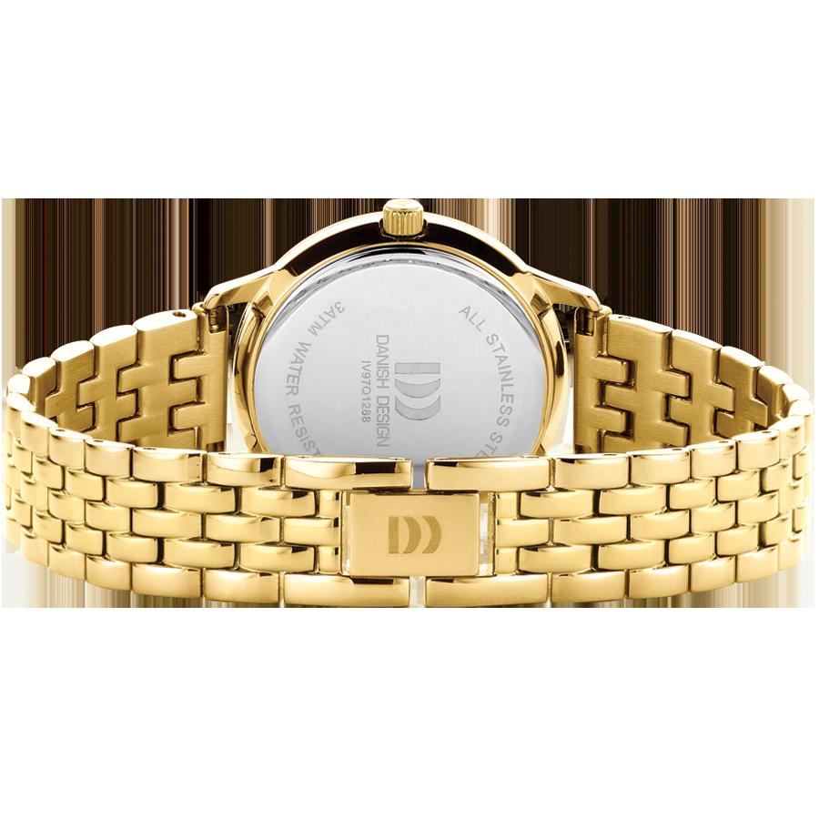 Danish Design - Horloge Dames - Nostalgi 1988 - Burgundy - IV97Q1288-2