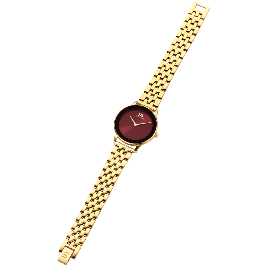 Danish Design - Horloge Dames - Nostalgi 1988 - Burgundy - IV97Q1288-4