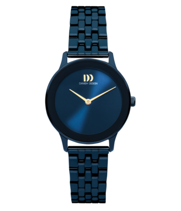 Danish Design - Horloge Dames - Nostalgi 1988 - Midnight Blue - IV98Q1288
