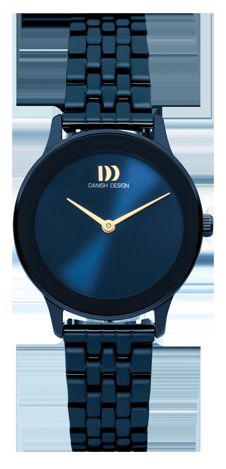 Danish Design - Horloge Dames - Nostalgi 1988 - Midnight Blue - IV98Q1288-1