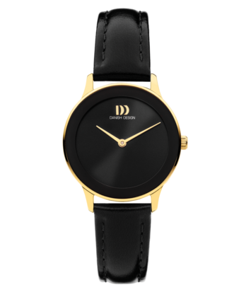 Danish Design - Horloge Dames - Nostalgi 1988 - Black Gold - IV11Q1288