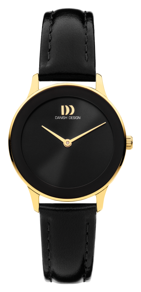 Danish Design - Horloge Dames - Nostalgi 1988 - Black Gold - IV11Q1288-1