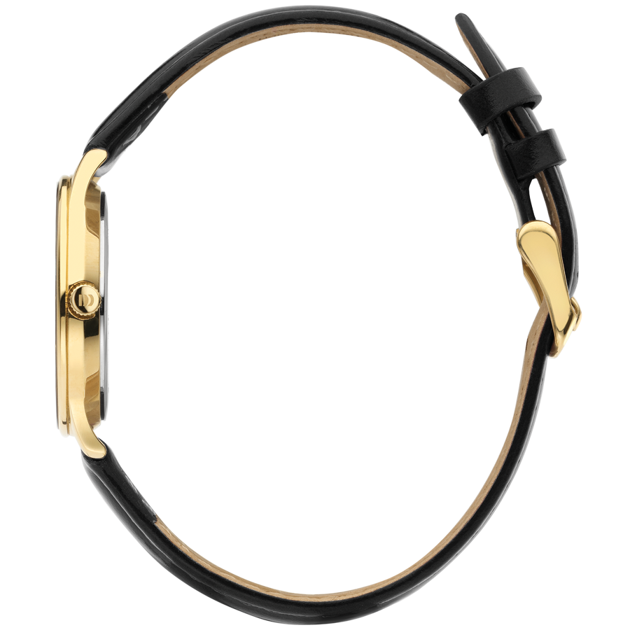 Danish Design - Horloge Dames - Nostalgi 1988 - Black Gold - IV11Q1288-3
