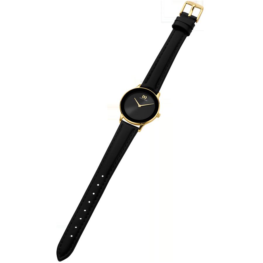 Danish Design - Horloge Dames - Nostalgi 1988 - Black Gold - IV11Q1288-4