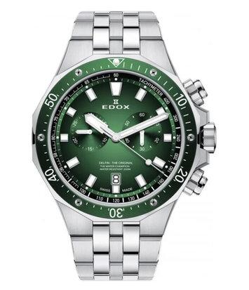 Edox - Horloge Heren - Delfin - 10109-3VM-VIN