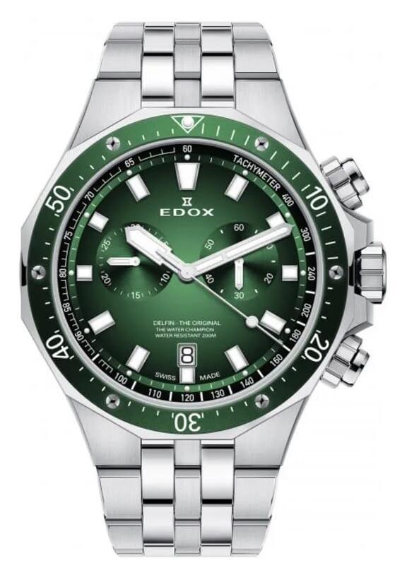 Edox - Horloge Heren - Delfin - 10109-3VM-VIN-1