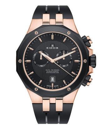 Edox - Horloge Heren - Delfin - 10110-357RNCA-NIR