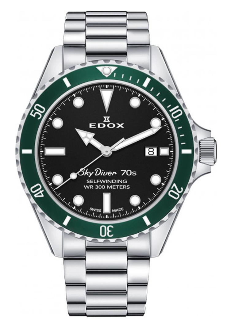 Edox - Horloge Heren - Sky Diver - 80115-3VM-NN-1