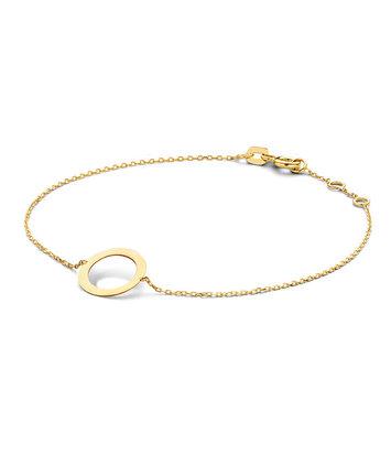 14 karaat geelgouden armband - Jackie - Silhouette